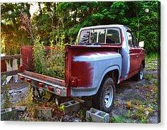 Weathered Truck Acrylic Print