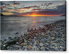 Welsh Sunset Acrylic Print