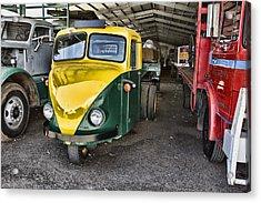 3 Wheeler Truck Acrylic Print by Douglas Barnard