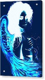 When Heaven And Earth Collide 1 Acrylic Print