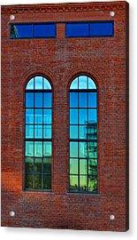 Windows Acrylic Print by Kent Mathiesen
