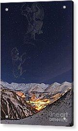 Winter Stars Acrylic Print by Babak Tafreshi