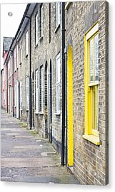 Yellow Door Acrylic Print