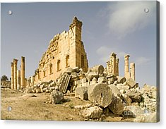 Zeus Temple, Gerasa, Jordan Acrylic Print