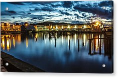 30 Sec Of The Blue Hour Acrylic Print
