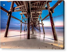 30 Seconds Under San Clemente Pier Acrylic Print
