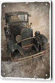 '31 Ford Diecast Truck Model Acrylic Print