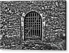 Fortress Kalemegdan Belgrade Acrylic Print by Milan Karadzic