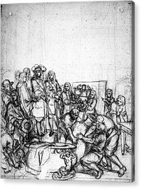 Louis Xiv (1638-1715) Acrylic Print