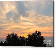 Sunset Acrylic Print by Frank Conrad