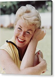 Doris Day Acrylic Print