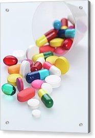Pills Acrylic Print