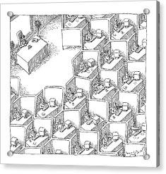 New Yorker November 15th, 2004 Acrylic Print by John O'Brien