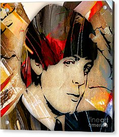Paul Mccartney Collection Acrylic Print