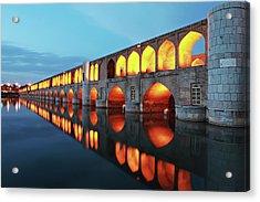 33 Pol Acrylic Print by Mohammadreza Momeni