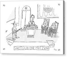 New Yorker April 23rd, 2007 Acrylic Print