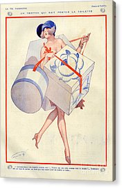 1920s France La Vie Parisienne Magazine Acrylic Print by The Advertising Archives