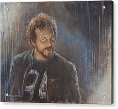 Vedder 34 Acrylic Print by Josh Hertzenberg
