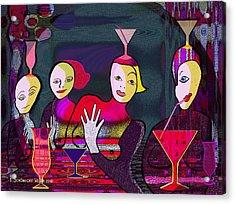 349 - Crazy Cocktail Bar   Acrylic Print