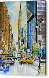 34th St. And 8th Ave Acrylic Print
