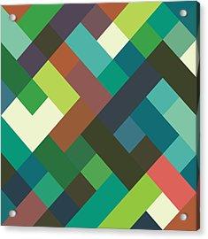Pixel Art Acrylic Print