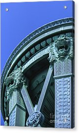 35x11 Perrys Victory Memorial Photo Acrylic Print
