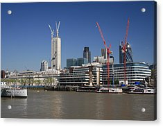 20 Fenchurch Street Acrylic Print by Ash Sharesomephotos