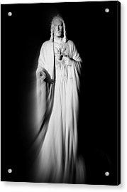 Views From Inside St Entienne Du Mont Church In Paris France Acrylic Print by Richard Rosenshein