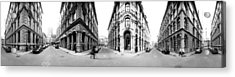 360 Degree View Of A City, Montreal Acrylic Print by Panoramic Images