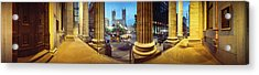 360 Degree View Of The Notre Dame De Acrylic Print
