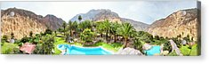 360 Degree View Of The Oasis Acrylic Print