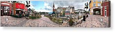 360 View Panorama, Mont-tremblant Acrylic Print by Henry Lin