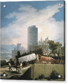 Goya Y Lucientes, Francisco De Acrylic Print by Everett