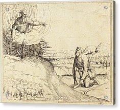Augustin Hirschvogel German, 1503 - 1553 Acrylic Print by Quint Lox