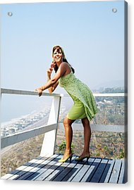 Claudia Cardinale Acrylic Print by Silver Screen