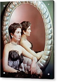 Jean Simmons Acrylic Print by Silver Screen