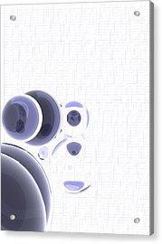 3840x5120.1.1 Acrylic Print by Gareth Lewis