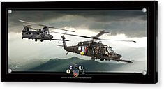 3rd Battalion Special Ops Acrylic Print by Larry McManus