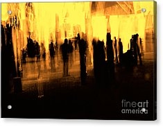 Acrylic Print featuring the digital art . by Danica Radman