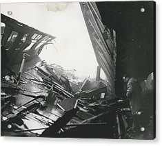 61 Die And 200 Injured In Lewisham Rail Disaster Acrylic Print by Retro Images Archive