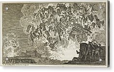 A Battle Scene Acrylic Print by British Library