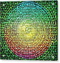 Abstract Dot Acrylic Print