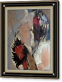 Abstraction Acrylic Print by Pemaro