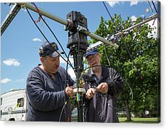 Amateur Radio Operators Acrylic Print by Jim West