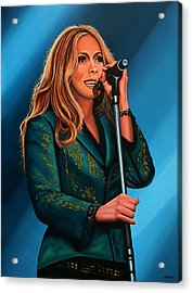 Anouk Painting Acrylic Print by Paul Meijering