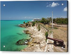 Antigua And Barbuda, Antigua, St Acrylic Print by Walter Bibikow