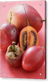Assorted Exotic Fruits Acrylic Print
