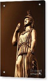 Athena Acrylic Print by Altay Suleyman