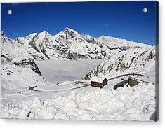 Austrian Mountains Acrylic Print