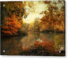 Autumn Afternoon  Acrylic Print by Jessica Jenney